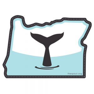 The Spout Oregon 4.5″ Sticker